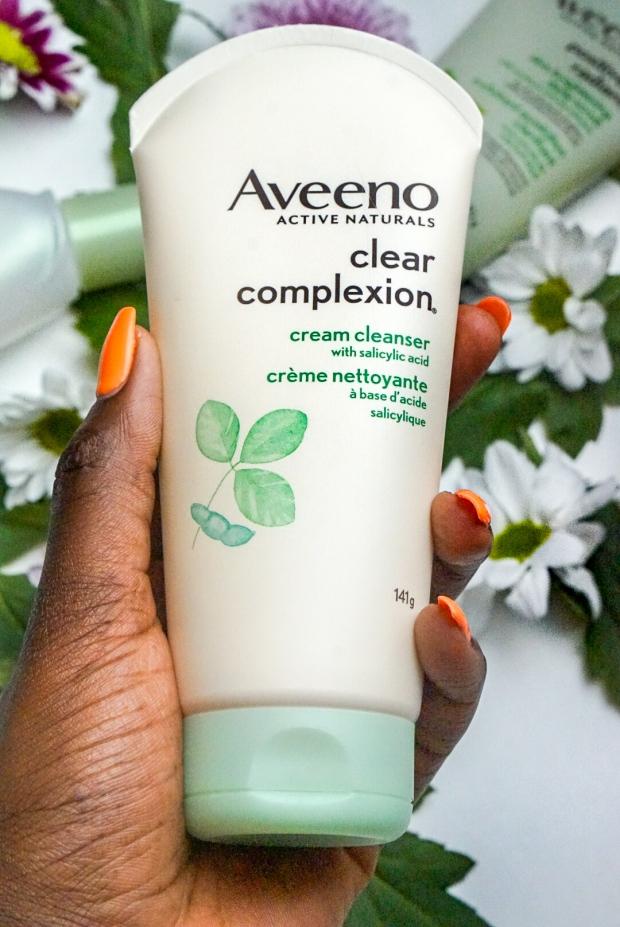 Aveeno: Cream Cleanser with Salicylic Acid